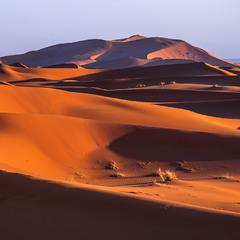 Форми вечірні в пустелі надихають.