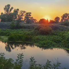 Річка Оріль серпнева така пресерпнева сталася була.