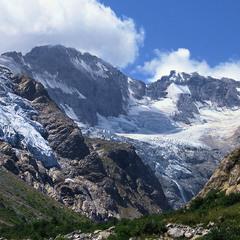 Джаст Кавказ. Льодовики все менші.