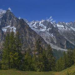 Кольорове літо в горах було.