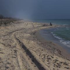 Хвеномен: туман виникає на межі моря й долу.