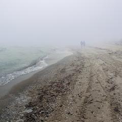 От  і підемо в тумані далі. Цим закінчилася невелика біла цятка туману на обрії.