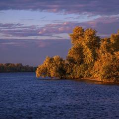 Жовтень буває із-за сонця - не лише із-за листя.