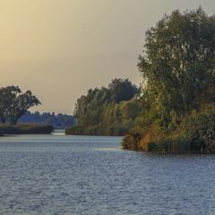 Озеро Мартишів у Києві - тиша й спокій тута.