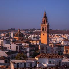Ранок прийшов. Містечко Écija (Есіха) на півдні Іспанії, в Андалусії, між Кордовою і Севільєю.