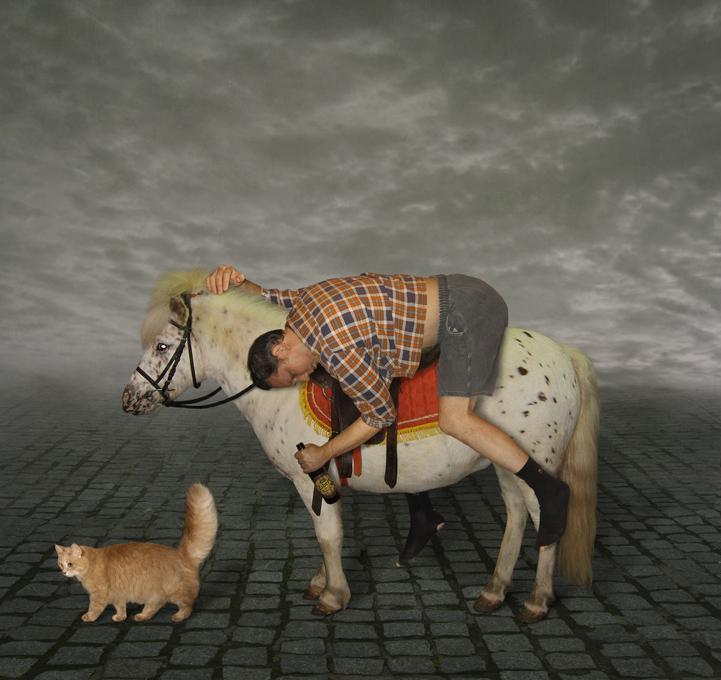 Картинки анимация, смешные картинки принца на коне