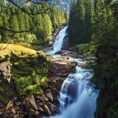 Криммльский водопад II