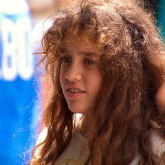 Портрет незнакомой девочки