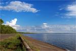 Гребля Кременчуцького водосховища