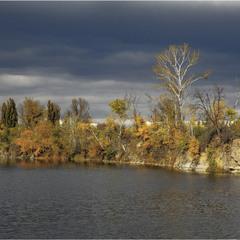 """Осінь, Кам""""яне озеро"""