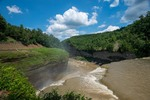 Letchworth State Park. Middle Fall.