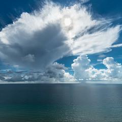 Облака над Атлантикой
