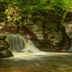 Adam's Falls. Lower cascade