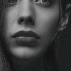 Portrait. Studio A. Krivitsky. Kiev.