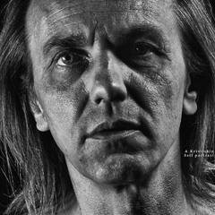 Self portrait. Old style. Hyperrealism. Studio A. Krivitsky.