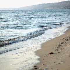 Морской берег..