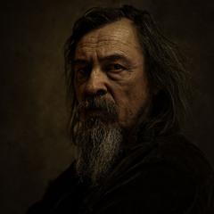 Портрет старого мастера