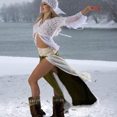 Прохладно, местами снег...