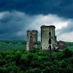 Развалины старого замка