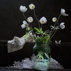 Порхание цветов...