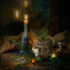 Зимова казка про білу мишку :)