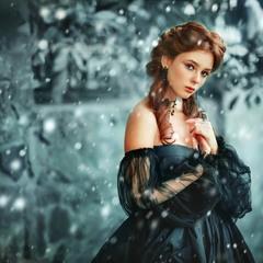 Snowy queen