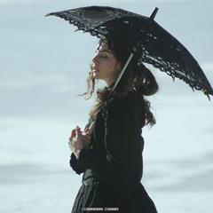 the one with umbrella