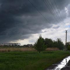 Непоганий дощ пройшов.