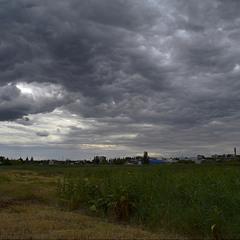 Хмарна турбулентність.