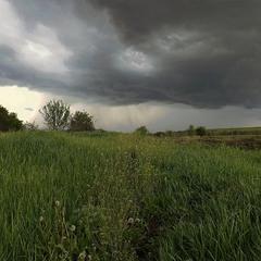 Злива наближається.