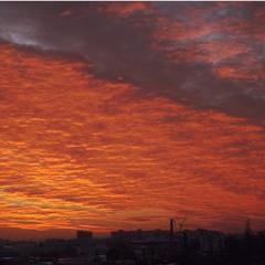 Кольорове небо.