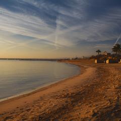 Зимнее утро на южном побережье