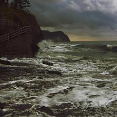 Море вспенится...