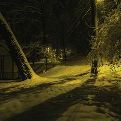 Cнежный парк...