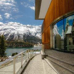 St. Moritz... Отражение
