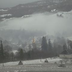 Десь біля Плаю туман...