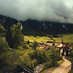 Швейцарское село