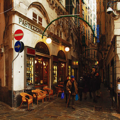Генуэзские улочки