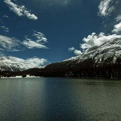 St. Moritz... Озеро