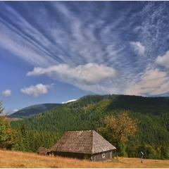 The House under sky