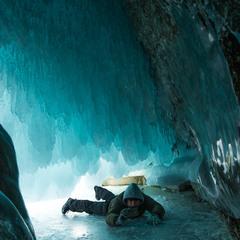 Ледяные пещеры Ольхона