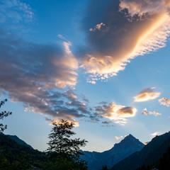 Про облака и горы