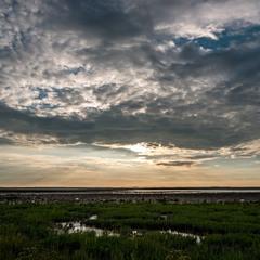 Закат над Северным Морем