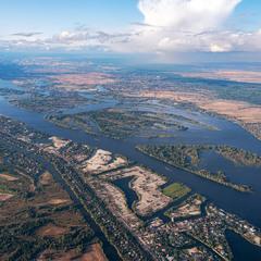 Днепровские просторы
