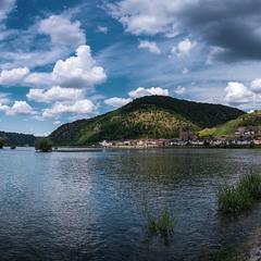 Облака над Рейном