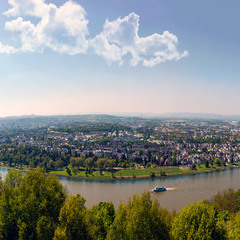 Большая панорама Рейна