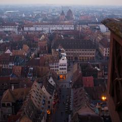 Вид с балкона )