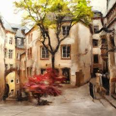 Улочки старого Люксембурга