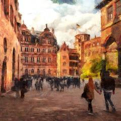 Прогулка по средневековью