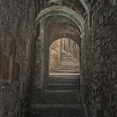 Средневековый переулок